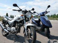 125: moto ou scooter